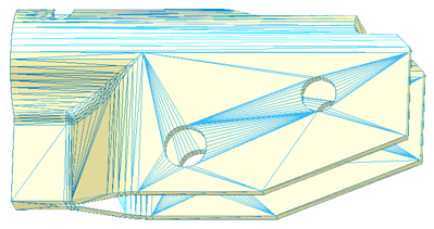 before edge detection with CGM Polyhedra