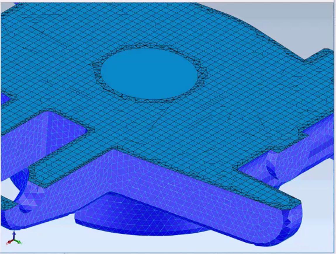 3D Precise Mesh in CGM
