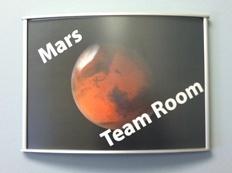 Team Room sign