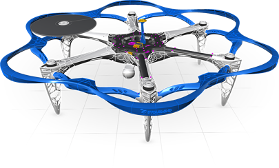 ams_cad-modeling_drone
