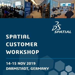 Spatial Customer Workshop in Darmstadt, Germany
