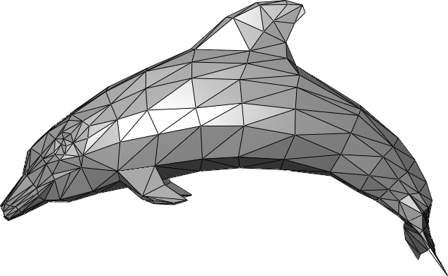 dolphin mesh