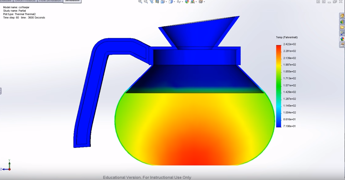 heat transfer simulation cfd